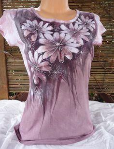 Dámské triko ,kopretinkové( M)