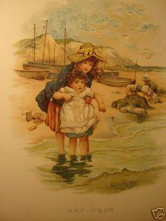 Harriett Mary Bennett illustration from Queen of the Meadow.