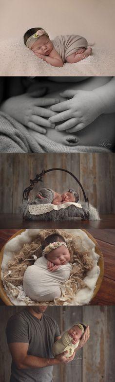 10 day old Josie | Des Moines, Iowa newborn photographer, Darcy Milder | His & Hers
