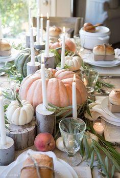 Fall Tablescape   Farmhouse Holiday Series