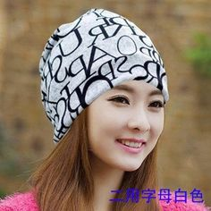 New arrival 2 Use Cap Knitted Scarf & Winter Hats  Hip-hop Skull women…