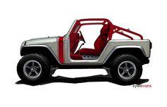 #Jeep Wrangler Pork Chop Concept
