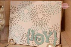 {Joy} Board with Martha Stewart Paints