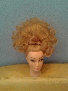 Work Hairstyles, Creative Hairstyles, Burlesque Hair, Hair Expo, Halloween Hair, Fantasy Hair, Hair Skin Nails, Hair Brained, Hair Affair