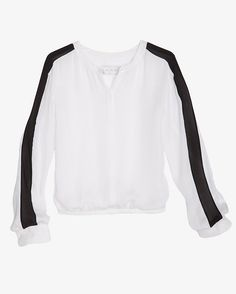 A.L.C. Carly Long Sleeved Silk Blouse