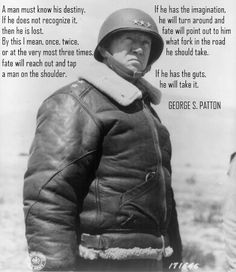 S. Patton Motivational Posters Quotes Courage