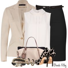 A fashion look from September 2013 featuring Chloé blouses, Ralph Lauren blazers and Jerome C. Rousseau pumps. Browse and shop related looks.