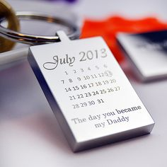 Special Day Key Ring