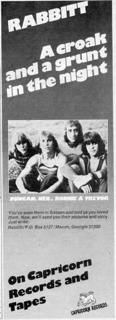 Rabbitt-1970s South African Rock Band Rock Bands, 1970s, African, Movie Posters, Pictures, Photos, Film Poster, Billboard, Film Posters