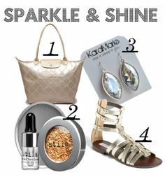 It's all about the sparkle & shine this spring.