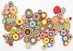 La Marimorena Creativos: El Quilling y Yulia Brodskaya - Crear arte con papel