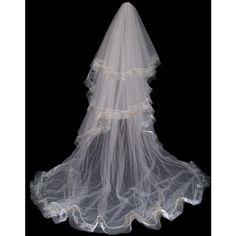 Cheryl King Couture Veils found on Polyvore