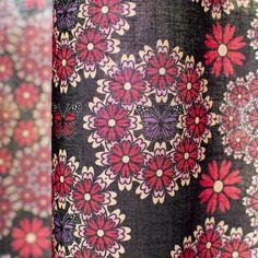 モダンデザインのインテリアファブリック/Permanence/SP FABRIC × RECORDS Floral Tie, Fabric, Fashion, Tejido, Moda, Tela, Fashion Styles, Cloths, Fabrics