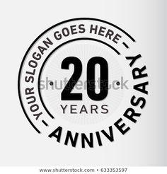 Vector and illustration. 50th Anniversary Logo, Company Anniversary, 15 Year Anniversary, Logo Design Inspiration, Icon Design, New Year Logo, Environment Logo, 100 Logo, Logo Concept