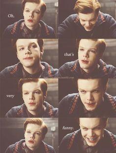 Young joker. Cameron monaghan