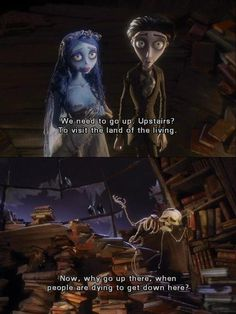 I laugh way too hard at this part every time I watch Corpse Bride haha :)