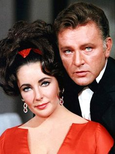Elizabeth Taylor & Richard Burton Legendary couple, remarriage #2? rerun? Ah, but that's true love, to do it over again and again hoping for a different ending in real life.