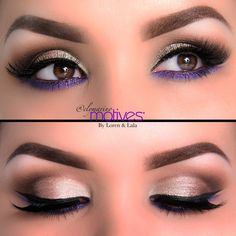 Wearing Colorful Eye Shadow - How to Wear Colorful Eye Shadow | Loren's World