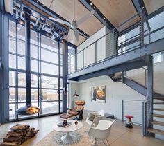 Modern Wicker Park Steel & Glass by dSPACE Studio Ltd, Kevin Toukoumidis Architecture, Landscape