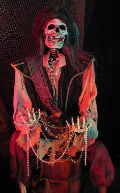 Yelsir uploaded this image to 'Pirate Gallery'. See the album on Photobucket. Pirate Halloween, Halloween 2020, Halloween Skeletons, Halloween Projects, Holidays Halloween, Halloween Themes, Halloween Party, Pirate Skeleton, Halloween Makeup