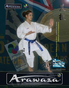 Sofia Livitsanou #arawaza #karate #equipment