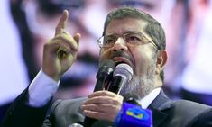 This is Mohamed Morsi. This man is the newly elected president of Egypt.