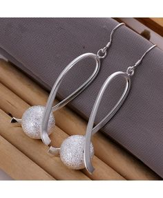 Creative Unique Sand Beads Earrings for Women