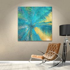 Found it at Wayfair - Palm Tree Sunset II Painting Print on Wrapped Canvas