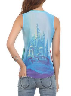 Disney The Little Mermaid Perfect Prince Girls Tank Top. Would love to trace the castle onto a tee or something! Disney Inspired Outfits, Disney Outfits, Disney Style, Disney Fashion, Disney Clothes, Pop Fashion, Prince Girl, Pretty Outfits, Cute Outfits
