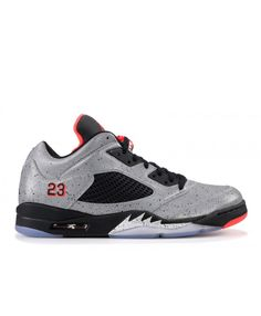6d498ca04085 Nike Air Jordan 5 Retro Low Neymar Neymar Reflect Silver Infrrd 23 Black  Outlet Nike Air
