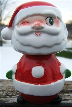 Check out holt howard winking santa stackable salt pepper set 1959 japan Christmas vintage on @eBay http://r.ebay.com/RSIH9R