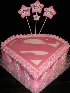 Superwoman cake - V