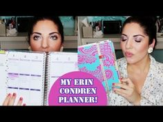How I Stay Organized: My Erin Condren Planner + $100 Giveaway! #eclifeplanner