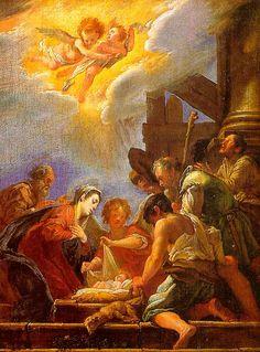Adoration of the Shepherds   Feti, Domenico (Italian, 1589-1625)