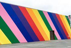 Mural Wall Art, Graffiti Wall, Instagram Wall, Paint Your House, Garden Wall Art, Murals Street Art, Environmental Graphics, World Of Color, City Art