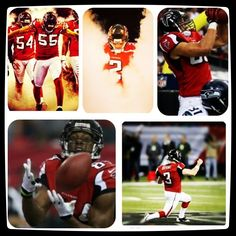 Falcons from start to finish!!!