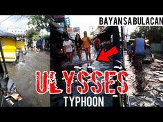 BAHA SA BULACAN   Pamilihang Bayan Nagmistulang Ilog Dulot ng BAGYONG ULYSSES - YouTube News, Youtube