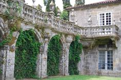 The pazo de Oca in Galicia, Santiago de Compostela (Spain)