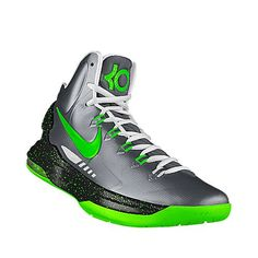 """KD V iD """"AM95 Neons"""". I designed this @ NIKEiD. Inspired by the Air Max '95 Neons! $150"""