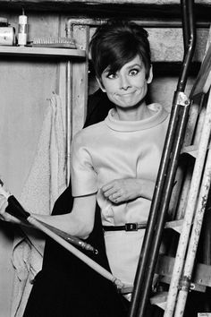 """Why change? Everyone has his own style. When you have found it, you should stick to it."" — Audrey Hepburn"