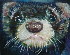 Ferret Painting