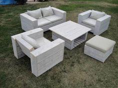 TUTO création d\'une table de jardin, table d\'exterieur avec palette ...