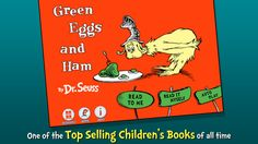 Dr Seuss - Green eggs and ham. Either have the story read or read the words.