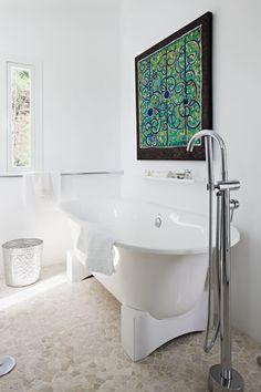 Beautiful Bathroom, http://decorextra.com/villa-mandarina-by-ana-bejar-interiorismo/