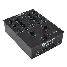 DJ Tech High Performance Dj Scratch Mixer W/contactless Innofader Turntable Setup, Music Mixer, Vinyl Cd, Dj Booth, Dj Equipment, Audio, Usb, Tech, Consoles