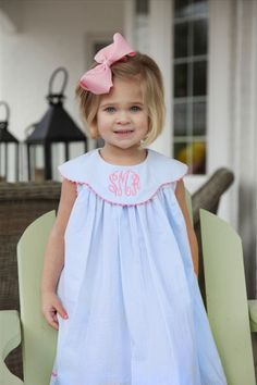 Adorableness!!  From the Posh Pickle - Smocked Children's Clothing.  Simply elegante`!