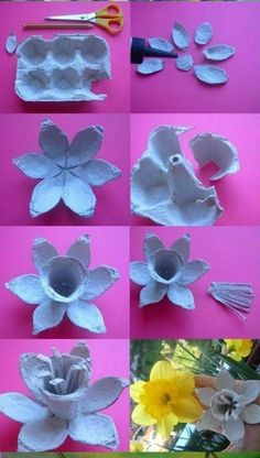 Flower box egg # flower box The post Flower box egg # flower .- Blumenkasten-Ei The post Blumenkasten-Ei appeared first on DIY Projekte. Kids Crafts, Easter Crafts, Diy And Crafts, Hat Crafts, Paper Flowers Diy, Flower Crafts, Fabric Flowers, Origami Flowers, Craft Flowers