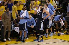 Grizzlies vs. Warriors Decepción en el banquillo de los Memphis Grizzilies