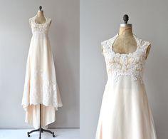 Mythos und Poesie Hochzeit Kleid  Vintage 70er Jahre von DearGolden, $850.00