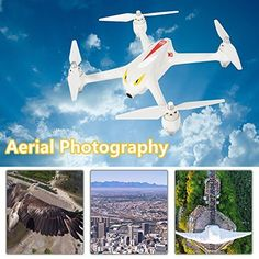 Drone with Camera GPS One Key Return Home Brushless Motors Altitude Hold Gift Rc Drone, Drones, Remote Control Toys, Aerial Photography, Hold On, Aircraft, Motors, Key, Gift